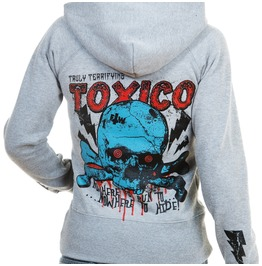 Toxico Clothing Grey Nowhere Ziphood