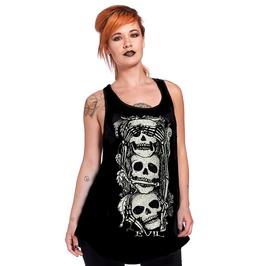 Jawbreaker Clothing See No Evil Slouchy Tank
