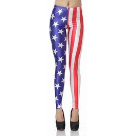 Usa Flag Leggings Design 268