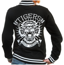 Toxico Clothing Black Tigers Jacket