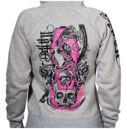 Toxico Clothing Grey Deathsnake Ziphood