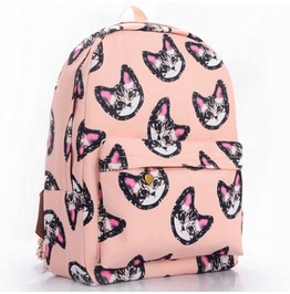 Little Pink Kitty Backpack