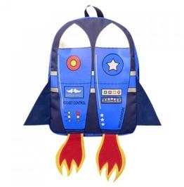 Blue Rocket Backpack