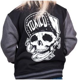 Toxico Clothing Charcoal Black No Posse Jacket