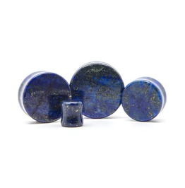 Lapis Lazuli Stone Plug