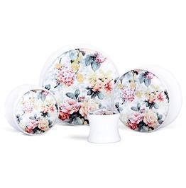 White Floral Plug