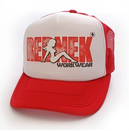 Toxico Clothing Unisex Red White Trucker Slut Trucker Hat