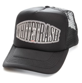 Toxico Clothing Unisex Black Whitetrash Trucker Hat