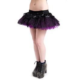Jawbreaker Clothing Purple Mini Layered Ghoul Tutu