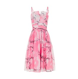 Voodoo Vixen Clothing Clara Pink Dreamy Spring Day Dress