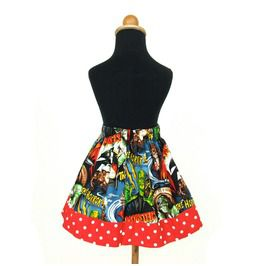 Movie Monsters Girl's Skirt