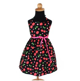 Retro Cherry Girl's Dress
