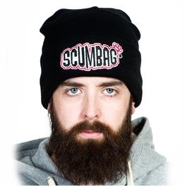 Toxico Clothing Unisex Black Scumbag Beanie Hat