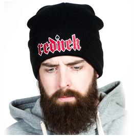 Toxico Clothing Unisex Black Rednek Gothic Beanie Hat