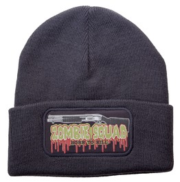Toxico Clothing Unisex Charcoal Zombie Kill Beanie Hat