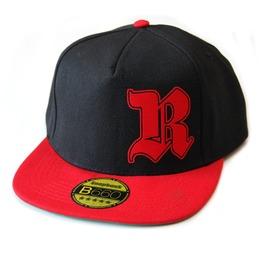 Toxico Clothing Unisex Black Red Rednek Gothic R Snapback