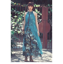 2016 New Arrival Designer Bohemian Style Women Maxi Dresses
