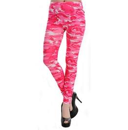 Pink Camo Leggings Design 446