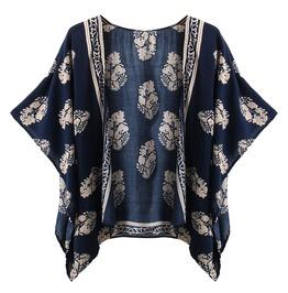 Plus Size Summer Women Casual Batwing Half Sleeve Jacket