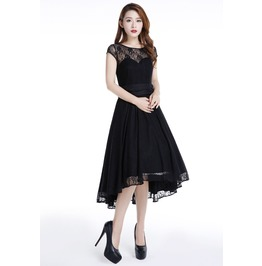 Red Black Blue Purple Lace Party Gothic Rockabilly 50s Dress Reg& Plus Size