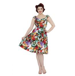 Voodoo Vixen Beryl Floral Spring Dress
