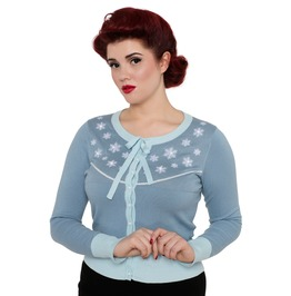Voodoo Vixen Brooke Perfect Holiday Cardigan