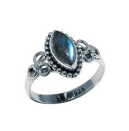 Hecathe Labradorite 925 Sterling Silver Ring
