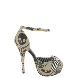 Iron Fist Shoes Lacey Days Peeptoe Platform