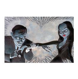 Lowbrow Art Company Valentine Lust Art Print By Artist Bob Lizarraga
