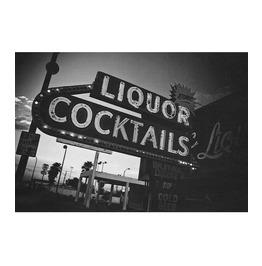 Las Vegas Liquor Art Print