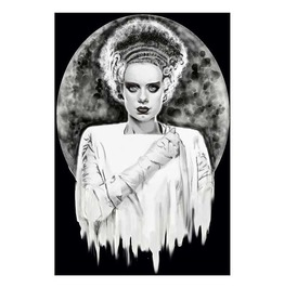 Monsters Bride Art Print By Artist Shayne Of The Dead