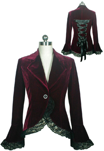 black_or_burgundy_velvet_lace_trim_gothic_jacket_regand_plus_sizes_9_to_ship_standard_tops_4.jpg