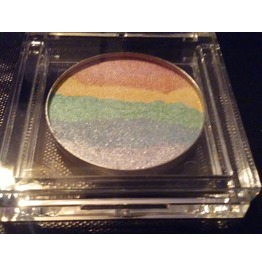 Rainbow Prism Iridescent Highlight Powder In Compact