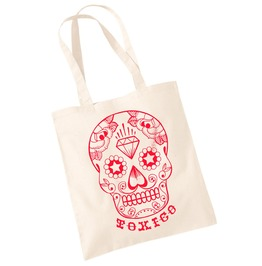 Toxico Clothing White Dt Skull Bag