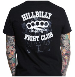 Toxico Clothing Black Hillbilly T Shirt