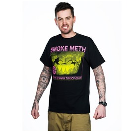 Toxico Clothing Black Smoke Meth T Shirt