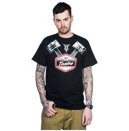 Toxico Clothing Black Pistons T Shirt