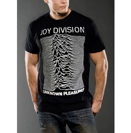 New Men Joy Division T Shirt Sound Wave Graphic Size S M