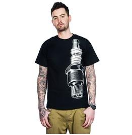Toxico Clothing Black Sparkplug T Shirt