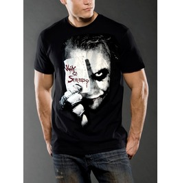 New Men Joker Kieth Ledger T Shirt Graphic Size S M L Xl Xxl