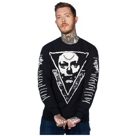 Toxico Clothing Black Possessed Longsleeve T Shirt