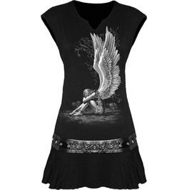 Mini Dress/Top Enslaved Angel Stud Waist Spiral Clothing