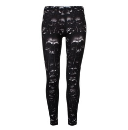 Spiral Leggings Skulls Catacomb
