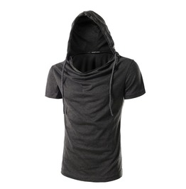 Men's Casual Hooided T Shirt