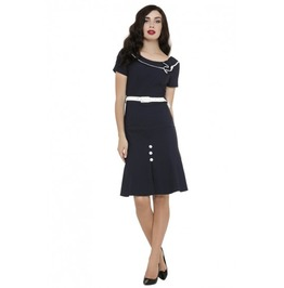 Voodoo Vixen Black Luanne Dress