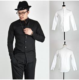 Sophisticate Mandarin Slim Shirts 126