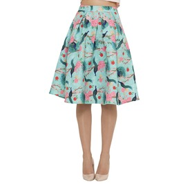 Voodoo Vixen Kiss Me Kate Skirt