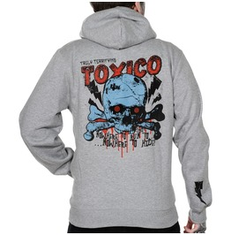 Toxico Clothing Grey Nowhere Ziphood