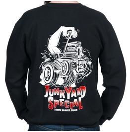 Toxico Clothing Black Junkyard Crew Neck Sweatshirt