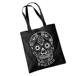 Toxico Clothing Black Dt Skull Bag